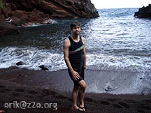 me @ Kaihalulu Red Sand Beach