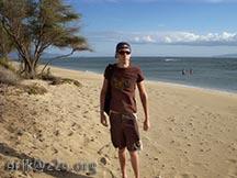 At the Beach along the Hanoapiilani Hwy