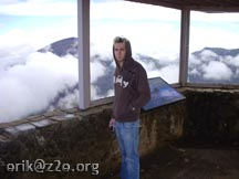 Nate on Mt Haleakala