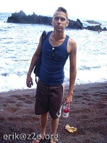 Nate @ Kaihalulu Red Sand Beach