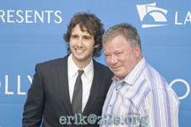 Josh Groban and WIlliam Shatner