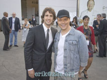 Josh Groban and Eric Paquette